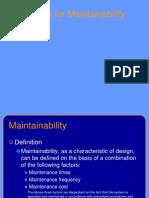 TECH101-Maintainability