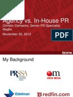 Christin Camacho's UW PRSSA Presentation