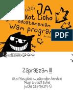 Program Festiwal Falkon 2012