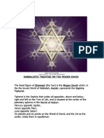 +A KABBALISTIC TREATISE on THE MOGEN DAVID or SHIELD/STAR OF DAVID