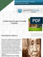 Asuhan Keperawatan Gerontik Gastritis