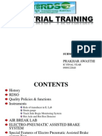 Industrial Training on Rdso (1)