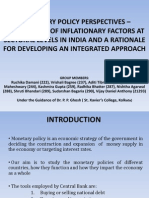 Monetary Policy Perspective
