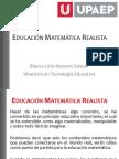 EDUCACION MATEMATICA REALISTA