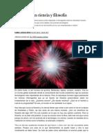 Donde rayan ciencia y filosofia (El País)