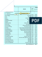 Mining Method Cost Estimation