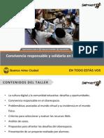 Convivencia Responsable y Solidaria en La Cultura Digital- Taller Familia- V15!5!10-12