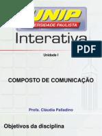 Composto de Comunicação aula 1