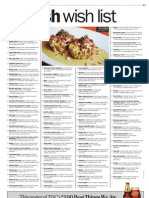 2012 100 Best Dish Wish List
