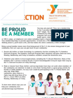 YMCA of the Capital Area Newsletter August