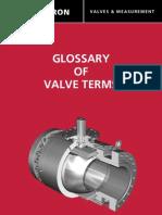 Glossary of Valve Terms Cameron