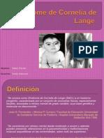 Síndrome de Cornelia de Lange