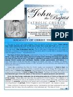 Bulletin November 25