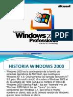 Presentacion Windows 2000