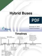Hybrid Buses Nov 21 2012