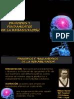 Principios y Fundamentos de La Rehabilitacion