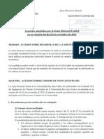 6 Acuerdo JEC (20!11!12) Campana Electoral Voto Anticipado Sorteo Mesas Interventores
