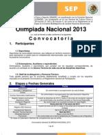 Convocatoria on 2013 Nov 21