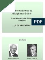 Proposiciones de M-M