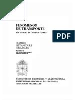 Fenomenos Transporte Ramiro Betancourt Grajales.libro Completo