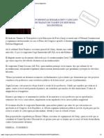 Congresistas Rimarachin y Lescano Rechazan Dictamen de Reforma Magisterial