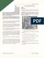 John Deere Fuel Injection Pump Repair & Installation
