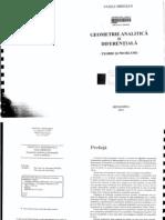 Vasile Mihesan- Geometrie Analitica Si Diferentiala (2011)