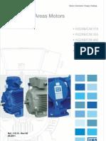 WEG Manual de Instrucoes Motores Assincronos Trifasicos a Prova de Explosao w22xb c m 355 500 110.15 Manual Portugues Br
