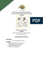 INFORME 5 GRUPO  1ERA RONDA DEMOCRACIA Y NACIÓN LA PROMESA PENDIENTE