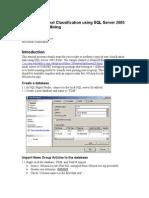 Text Mining Tutorial