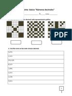 Guía números decimales quinto básico