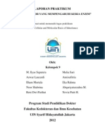 Laporan Praktikum Faktor-Faktor Yang Mempengaruhi Kerja Enzim