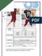 Pantalon Rojo Purpeo (La Bou Shop)