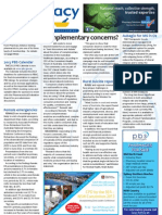 Pharmacy Daily for Thu 22 Nov 2012 - Complementary concerns, MS, chemo threats, travel and much more