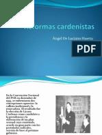 Reformas cardenistas