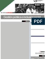 Gestión pública e inclusión social