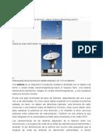 Tipos de Antena Que Se Utiliza en Las Microondas