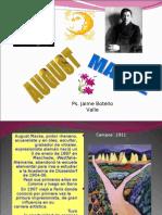 August Macke. Ps. Jaime Botello Valle