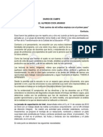 Diario de Campo Ie.aca