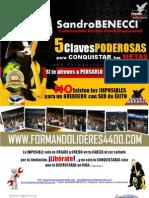 Sandro Benecci 5 Claves Poderosas Para Conquistar Tus Metas