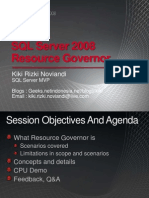 Introducing SQL Server 2008 R2 Resource Governor