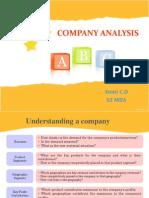 Company Analysis Ppt