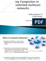 Avoiding Congestion in Packet Switched Multicast Networks