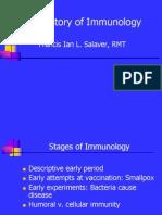 History Immunology
