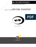 Manual de Bienvenida El Sabor Del Paraiso