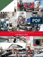 CSR Report 2012