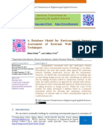 A database Model for Environmental ImpactAssessment of External Wall ConstructionTechniques