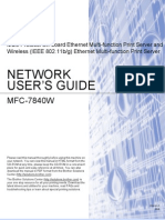 Brother MFC-7840W Network User's Guide