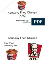 Ravi Kentucky Fried Chicken KFC Marketing Mix Four Ps