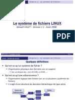 Linux - Chap2 - Systeme de Fichiers